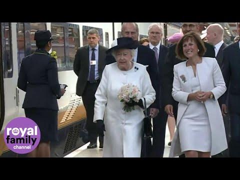 Queen travels to