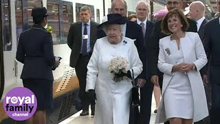 Queen travels to Paris by Eurostar for D-Day anniversary