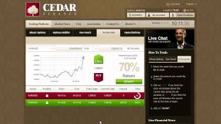 Binary Option Trading Strategy Using Cedar Finance Traders Choice 60 Seconds Strategy