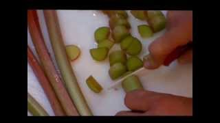 Rhubarb-bq  Sauce