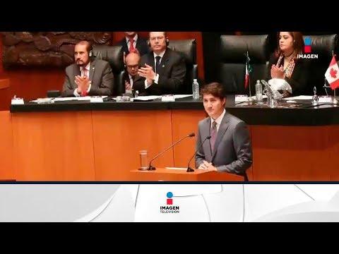 Justin Trudeau critica al Senado de México, y los mexicanos lo aplauden | Noticias con Ciro