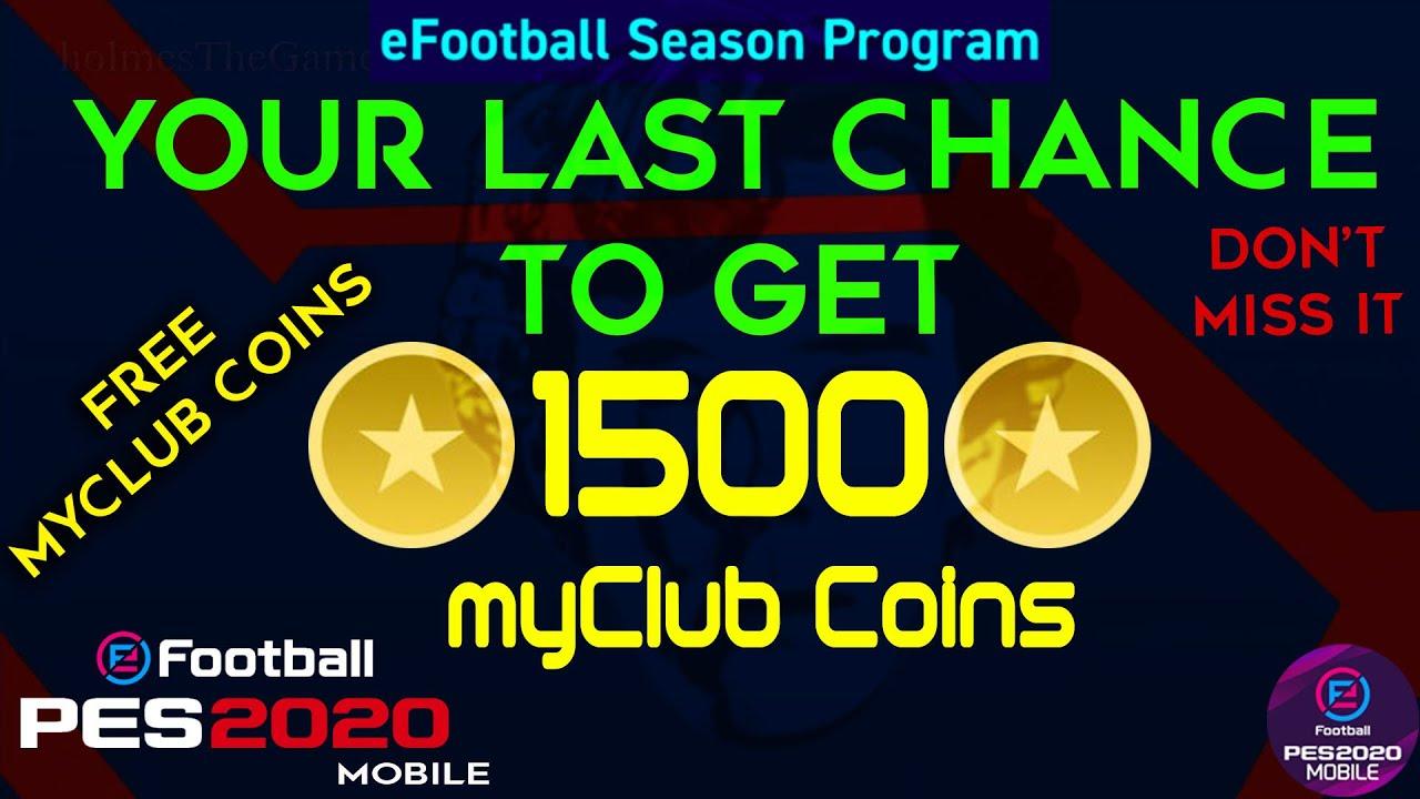 buy myclub coins pes 2020 mobile
