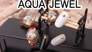 [SARACEN Trend Nail] 사라센 트렌드 네일 9회 아쿠아보석 / Trend Nail Ep.9 aqua  jewel