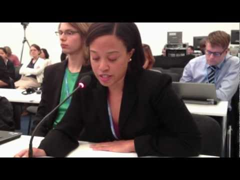 COP18 in Qatar: Gender Equality and Climate Change