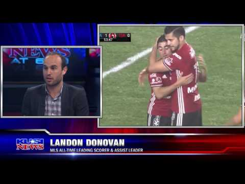 Landon Donovan talks MLS in San Diego and much more with Paul Rudy