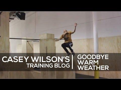 Casey Wilson Training Blog 3 - Goodbye Warm Weather