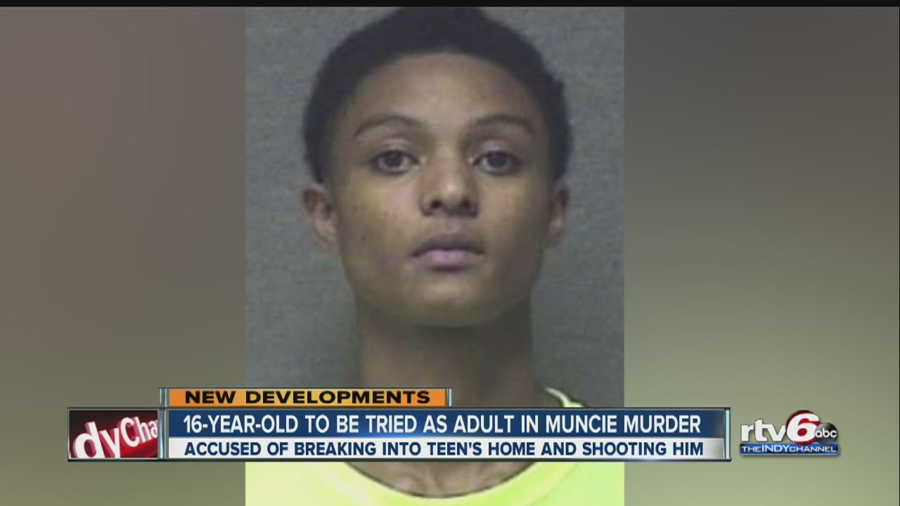 Muncie teen to be tried as adult in fatal shooting