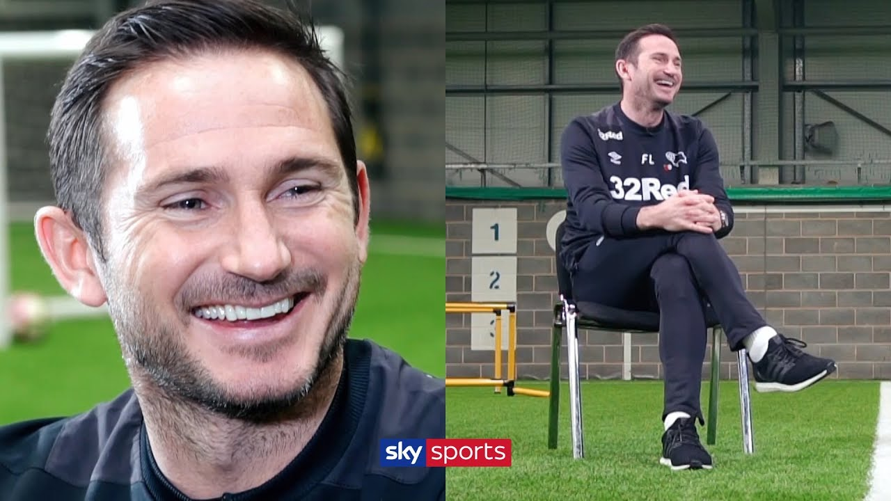 Does Frank Lampard dream of managing Chelsea? | Exclusive Interview