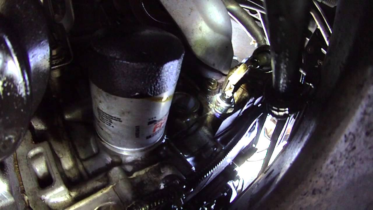 2002 Honda Crv Oil Leak Oil Pressure Sensor Location Youtube