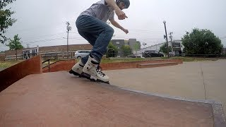 Oysi Frames At Durham Skatepark - Back To Blading