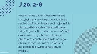 #Ewangelia | 27 grudnia 2018 | (J 20, 2-8)