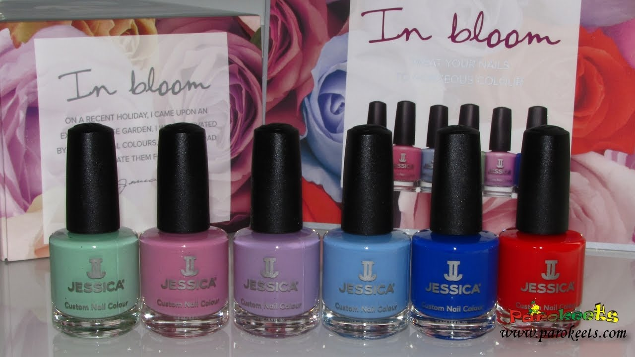 Jessica In Bloom Nail Polish Swatches Summer 2014 Youtube