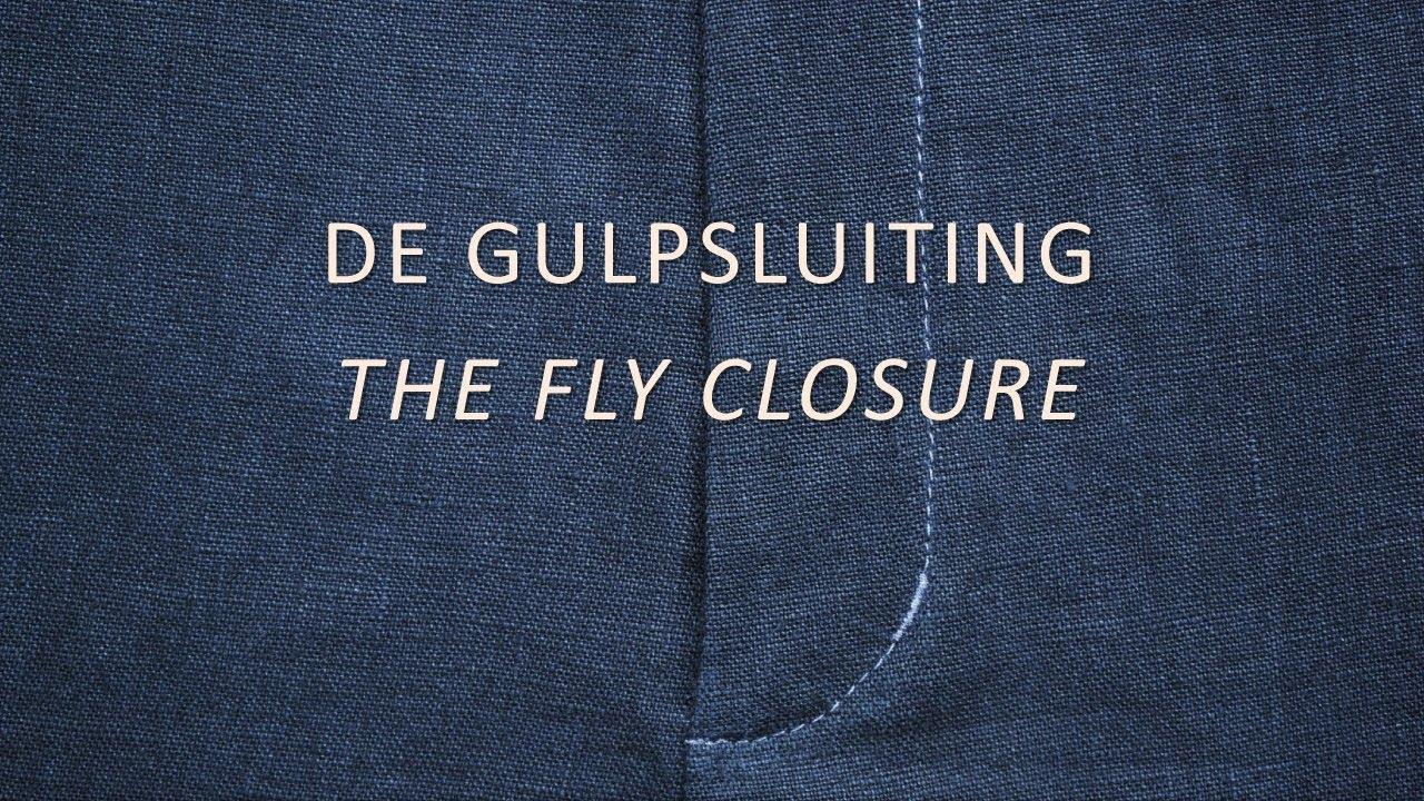 b75740a39c5 Een gulp of gulpsluiting naaien / Sewing a fly closure or zipper fly ...