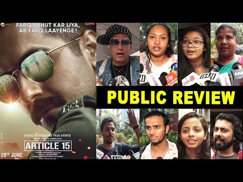 Article 15 Movie | Hit/Flop Honest Public Review | Ayushmann Khurana