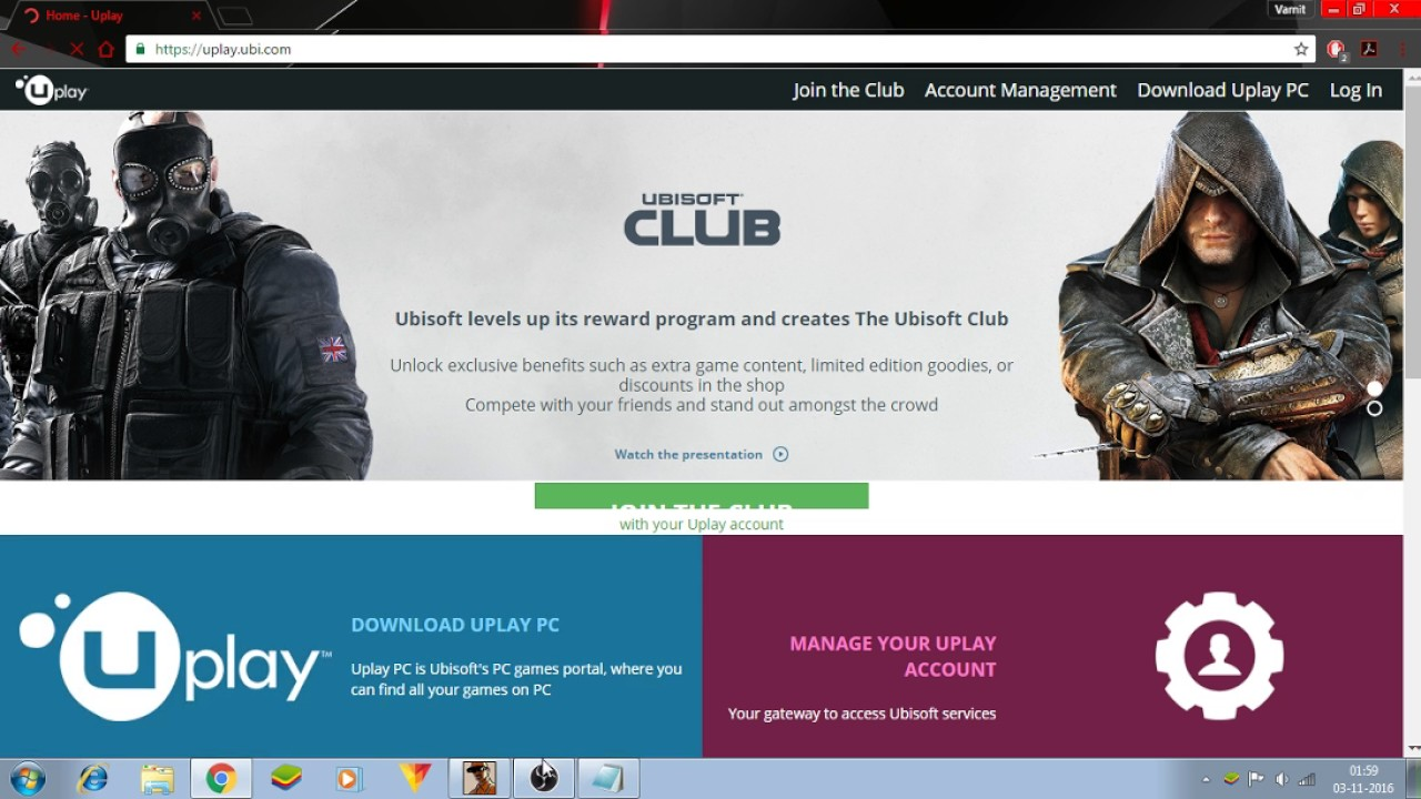 HOW TO DOWNLOAD UPLAY FOR PC