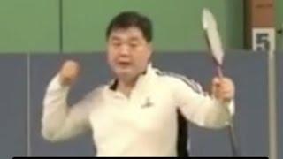(十二)击球不应有多余的动作 Badminton Backhand 12
