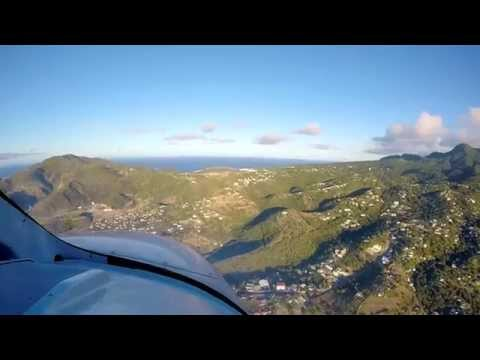 Incredibly short runway landing in Montserrat, BWI