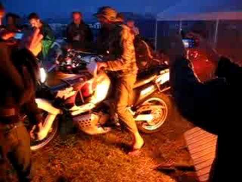 Explosie Motor Camping De Haar TT-Assen 2008