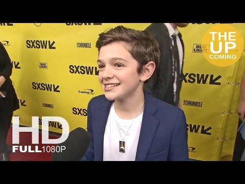 Noah Jupe interview at A Quiet Place premiere in SXSW