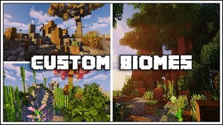 How to Build Custom Biomes in Minecraft