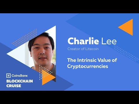 Charlie Lee: The Intrinsic Value of Cryptocurrencies - Blockchain Cruise 2018