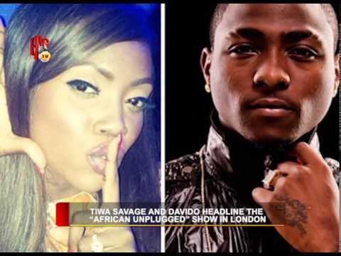 HIPTV NEWS - TIWA  SAVAGE AND DAVIDO HEADLINE THE WEST AFRICAN SHOW IN LONDON