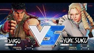 sf5 v mcz daigo umehara ryu vs yonesuku karin スト5