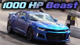 They Already Modded a Brand New Camaro ZL1 to Over 1000hp!!