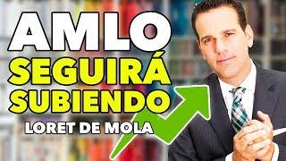 Loret de Mola TAMBIÉN acepta TRINFO de AMLO y dice seguirá SUBIENDO en las ENCUESTAS