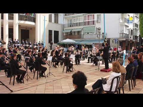 Concierto marchas procesionales de la  Banda de Música de  Rincón de la Victoria. Semana Santa 2021.