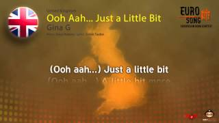 Gina G – Ooh Aah… Just a Little Bit (United Kingdom) Eurovision Song Contest 1996