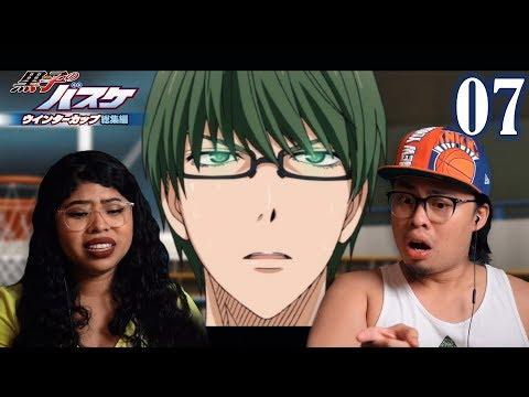 MIDORIMA IS SO OP! NANIII! KUROKO NO BASKET SEASON 1 EPISODE 7 REACTION