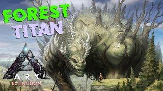 MENCOBA TAMING FOREST TITAN! - ARK SURVIVAL EVOLVED EXTINCTION