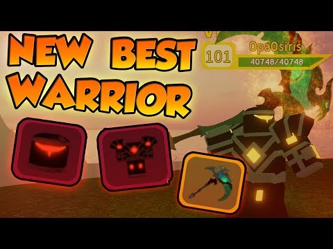 THE NEW BEST WARRIOR LOADOUT! Custom Upgraded! - ⚔️Roblox Dungeon Quest
