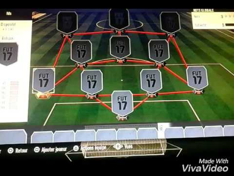 Squad bulder équipe d'Algérie pour 70K-FIFA17
