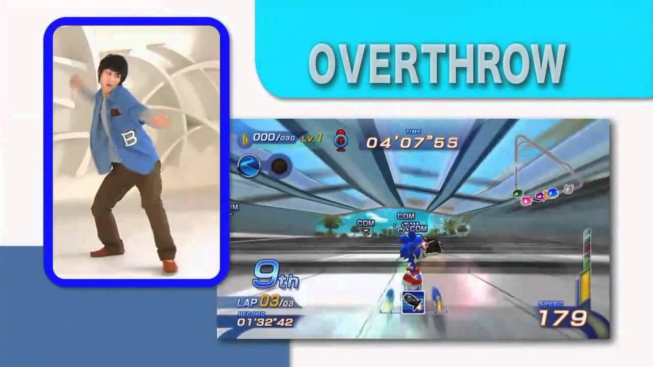 XBox 360 音速小子 自由滑板競速 - 宣傳影片 - YouTube