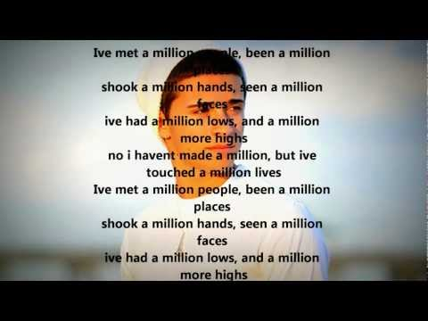 A million lives - Jake Miller ( Lyrics )