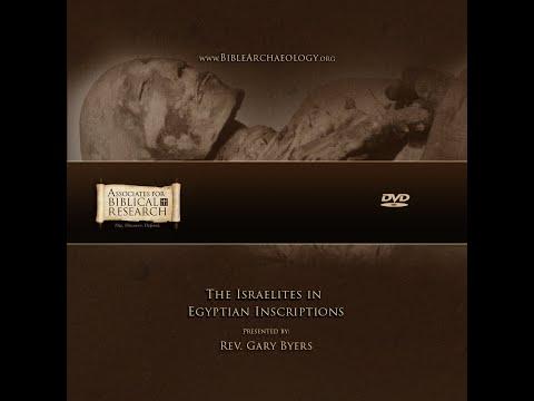 The Israelites In Egyptian Inscriptions