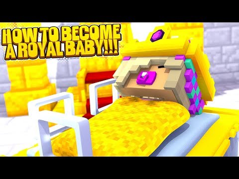 Minecraft  LITTLE LEAH IS A NEW BORN BABY PRINCESS!!!