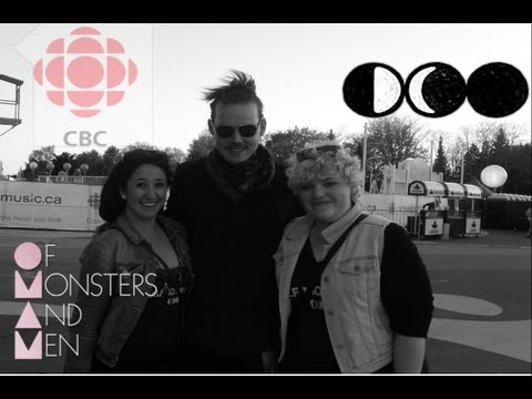 CBC Music Festival 2013 Footage: Of Monsters And Men, Half Moon Run, Elesapie Isaac