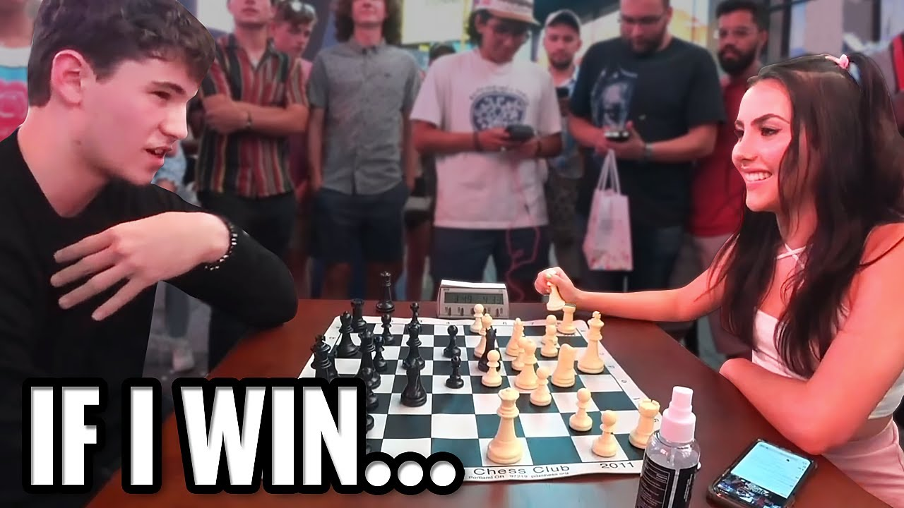 Undercover Chess Master Plays For My Number