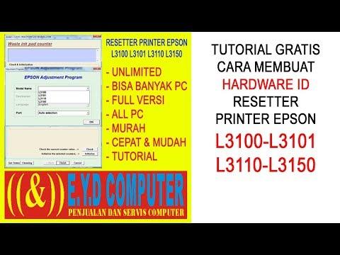 Full Download] Resetter Epson L3110 L1110 L3150
