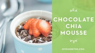 Chocolate Chia Mousse