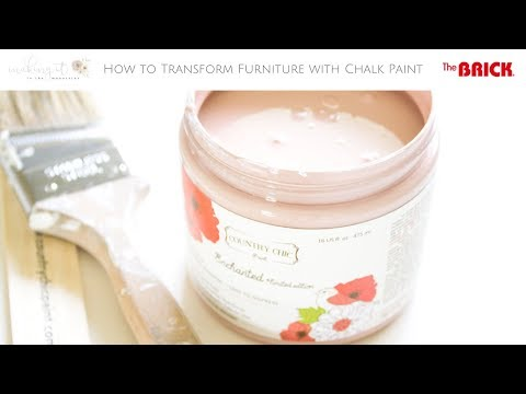 How to Easily Transform Furniture with Chalk Paint