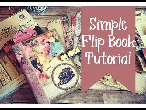 Simple Flip Book...using cards and envelopes! | TUTORIAL