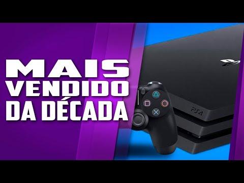 O console e o jogo MAIS VENDIDO DA DÉCADA