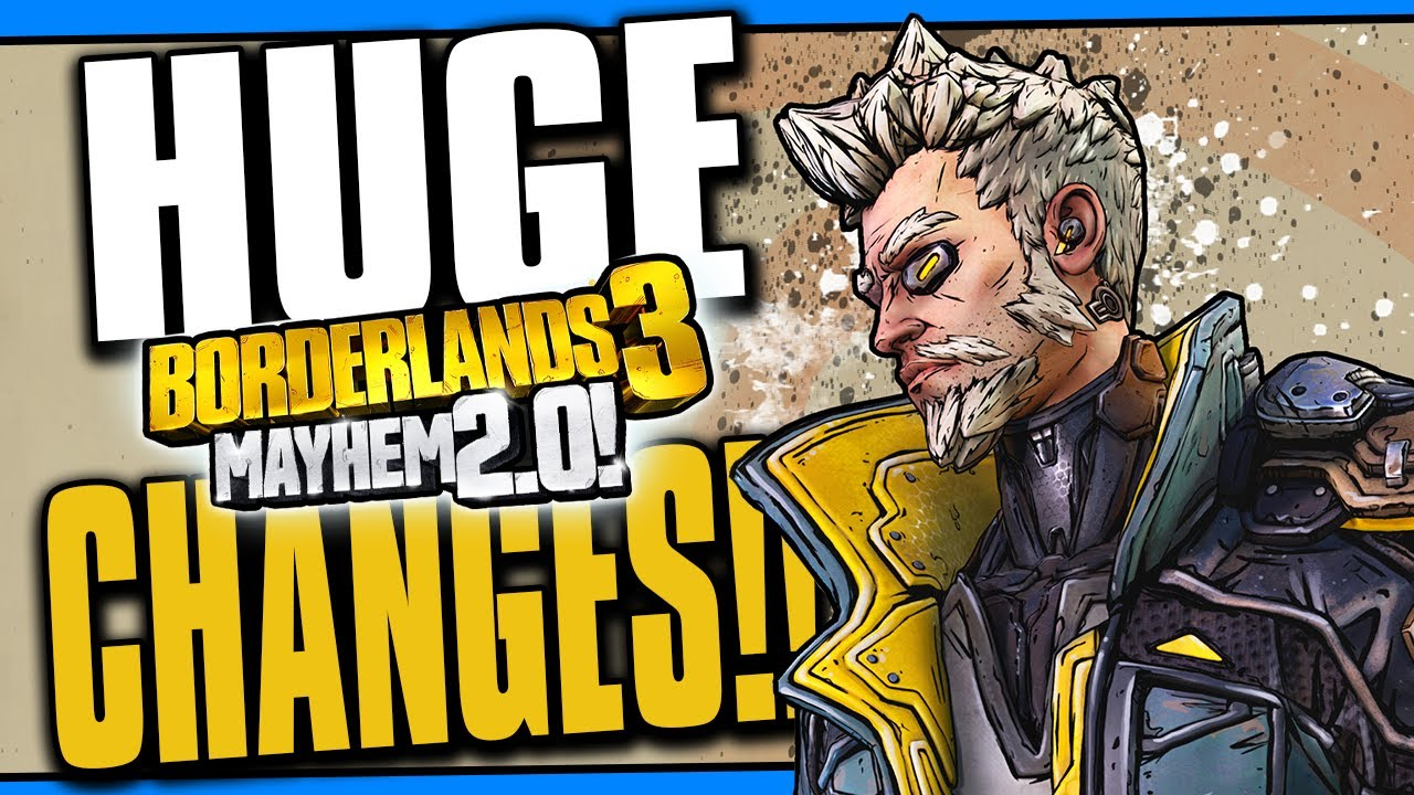 HUGE CHANGES COMING!! | Loot Pool Spread, Mayhem Balancing & MORE! [Borderlands 3] thumbnail