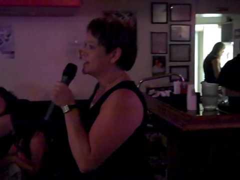 Ken Carr video of Leslie's karaoke birthday party August 15 2009 - coworker karaoke!