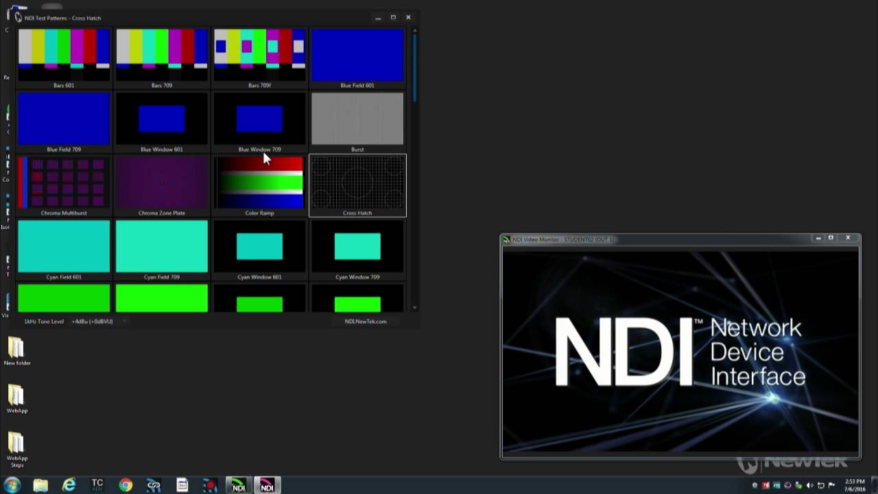 2 Minute Tutorial: Free NDI Applications