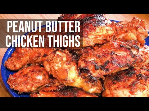 Peanut Butter Chicken By The BBQ Pit Boys
